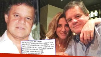 El conmovedor pedido de Quique Sacco, a dos meses de la muerte de Débora Pérez Volpin (Fotos: Web y Twitter)