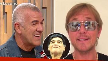 El chiste de dady sobre el look de Taiana ¡y un picante guiño a Maradona!