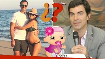 El motivo por el que Juan Manuel Urtubey e Isabel Macedo no eligieron el nombre de su beba en camino (Fotos: Instagram y Captura)