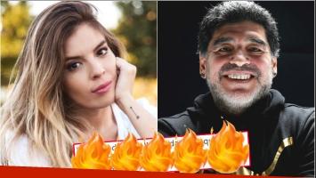La respuesta de Dalma Maradona sobre si seguirá tradición de ponerle Diego a su hijo (Fotos: Web)