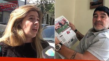 Dalma Maradona, sobre el faltazo de Diego a su boda