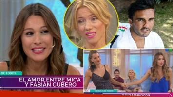 """La revelación de Pampita en su programa: En casa siempre recibimos a Cubero con las nenas"""""""