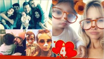 Lorenzo Tinelli cumplió 4 añitos y sus familiares le dedicaron unas dulces palabras en las redes (Fotos: Instagram y Web)