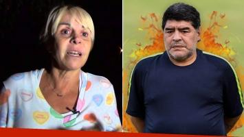 Claudia Villafañe aseguró que Maradona le hace la guerra por celos: Empezó todo esto cuando supo que tenía novio