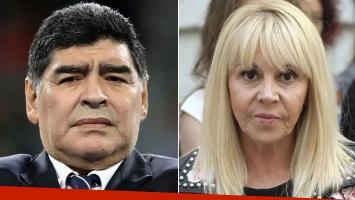 La respuesta de Claudia Villafañe luego de que Maradona asegurara que pagó la boda de Dalma