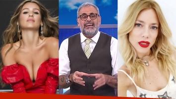 Jorge Rial, Pampita y Nicole Neumann