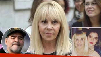 Claudia Villafañe reveló cuál fue el peor momento de Dalma Maradona en su casamiento con Andrés Caldarelli