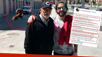 Oscar González Oro publicó una llamativa foto