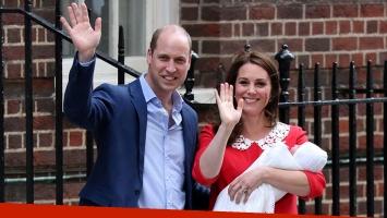 Kate Middleton dio a luz a un bebé varón. (Foto: AFP)