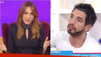 Verónica Lozano habló de la viralización de imágenes íntimas de Juan Cruz Sanza: Juan no está hoy en el programa...