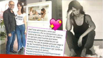 El mensaje de Rial tras la conmovedora historia de vida que reveló Romina Pereiro (Fotos: Instagram)
