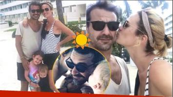 El álbum de las paradisíacas vacaciones de Paula Chaves y Pedro Alfonso con sus hijos en las Bahamas (Fotos: Instagram y Captura de Instagram Stories)