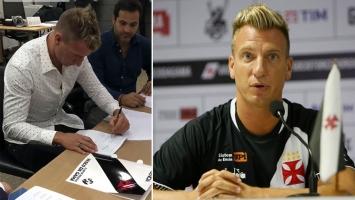 Maxi López firmó contrato con Vasco da Gama y se va a vivir a Brasil