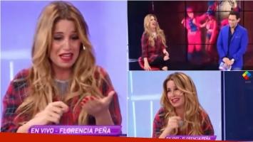 Florencia Peña habló de la supuesta nueva parte de su video prohibido. Foto: Captura