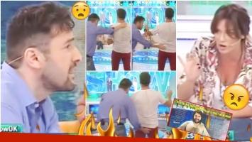 El enojo de Paula Chaves con Ergün Demir en Este es el Show (Fotos: Captura)