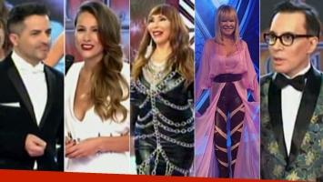 Los looks de los jurados del Bailando (Foto: web)