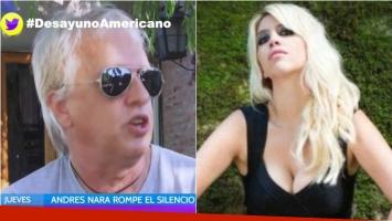 Andrés Nara aclaró su polémica frase sobre Wanda: