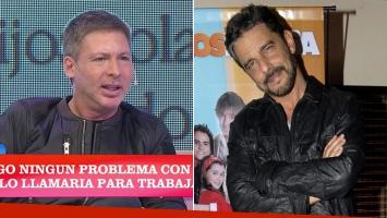 Adrián Suar reveló la frase de Mazzei que lo enfadó