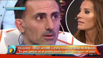 Diego Latorre habló por primera vez del escándalo sexual con Natacha Jaitt