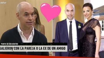 Horacio Rodríguez Larreta y la particular historia de amor con su esposa