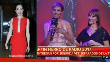 Cristina Pérez, look súper sexy en los Martín Fierro de Radio 2017: recibió un 10 de Matilda Blanco por su estilo