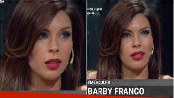 El duro relato de Barby Franco: Cuando mi papá se alcoholizaba, me gatillaba con un arma en la cabeza