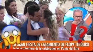 El polémico voto matrimonial de Rodrigo Fernández Prieto con Floppy Tesouro