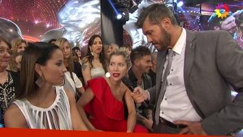 Tinelli calentó la segunda semifinal preguntándoles a Laurita y Lourdes por su viejo enfrentamiento: la reacción de las bailarinas