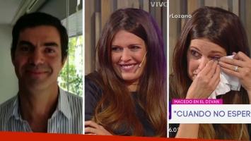 Isabel Macedo se largó a llorar en Cortá por Lozano tras ver un tierno video de Juan Manuel Urtubey