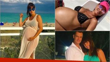 Andrea Estévez contó que su hija nacerá en Estados Unidos por orden médica: Estábamos de vacaciones y la nena se...