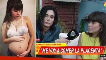 Felipe Pettinato, tras contar que será padre por primera vez: Me quiero comer la placenta