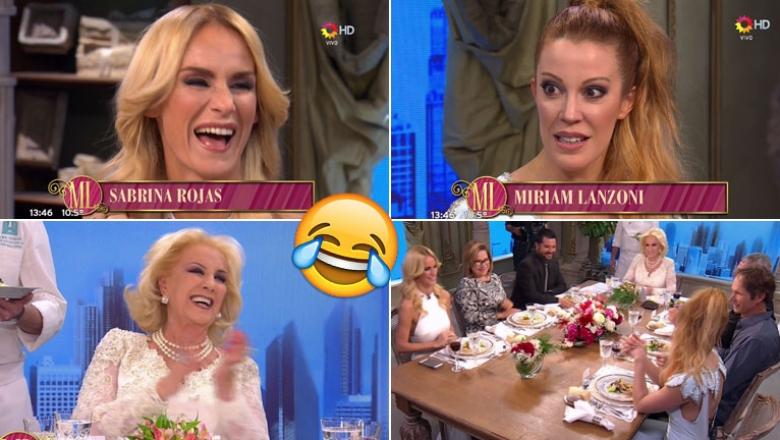 ¡Qué confusión! El divertido blooper con Sabrina Rojas y Miriam Lanzoni en la presentación de Almorzando
