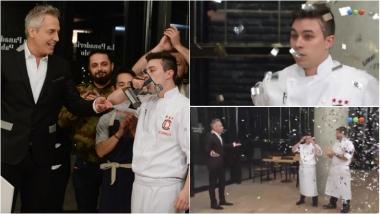 Rodrigo es el ganador de Dueños de la cocina. Foto: Captura/ Telefe