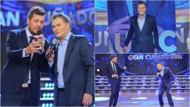 El Macri de Fredy Villarreal se reencontró con Tinelli en ShowMatch. Foto: Ideas del sur