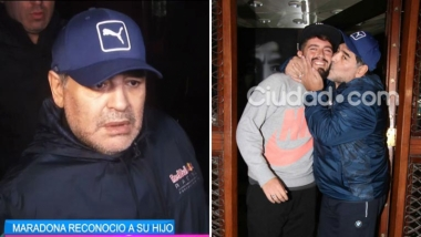 El video con la felicidad de Diego Maradona tras la reunión con Junior