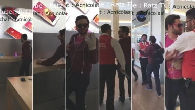 El video viral del hombre que destrozó los iPhones de un local de Apple en Francia.