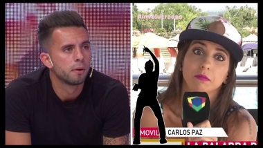 Así reaccionó Cinthia Fernández a la postulación de Matías Defederico al Bailando