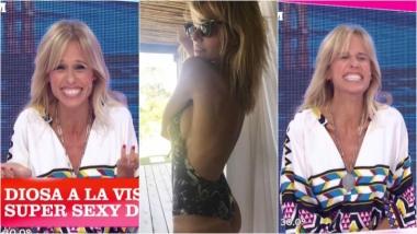 Mariana Fabbiani se rió de las repercusiones por su foto hot