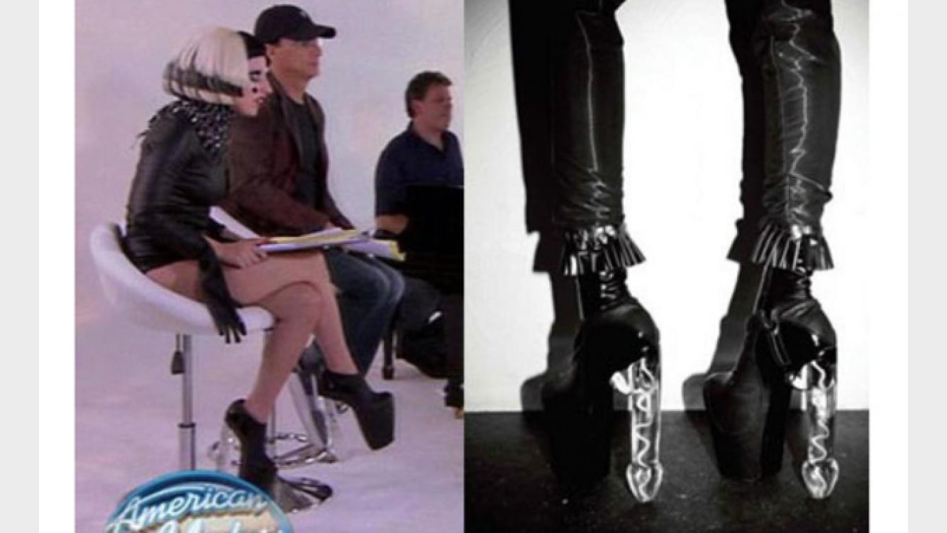 Los Zapatos Censurados De Lady Gaga Ciudad Magazine