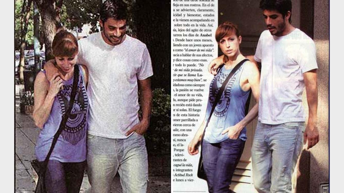 """Anabel Cherubito Hot anabel cherubito presentó a su joven novio: """"es el amor de"""