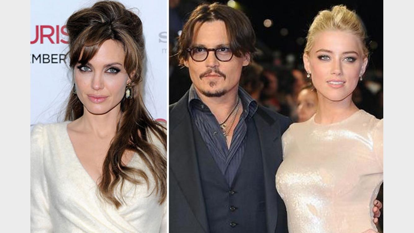 Angelina Jolie Le Pide A Johnny Depp Que No Se Case Con Su Novia Cazafortunas Pero él Ciudad Magazine