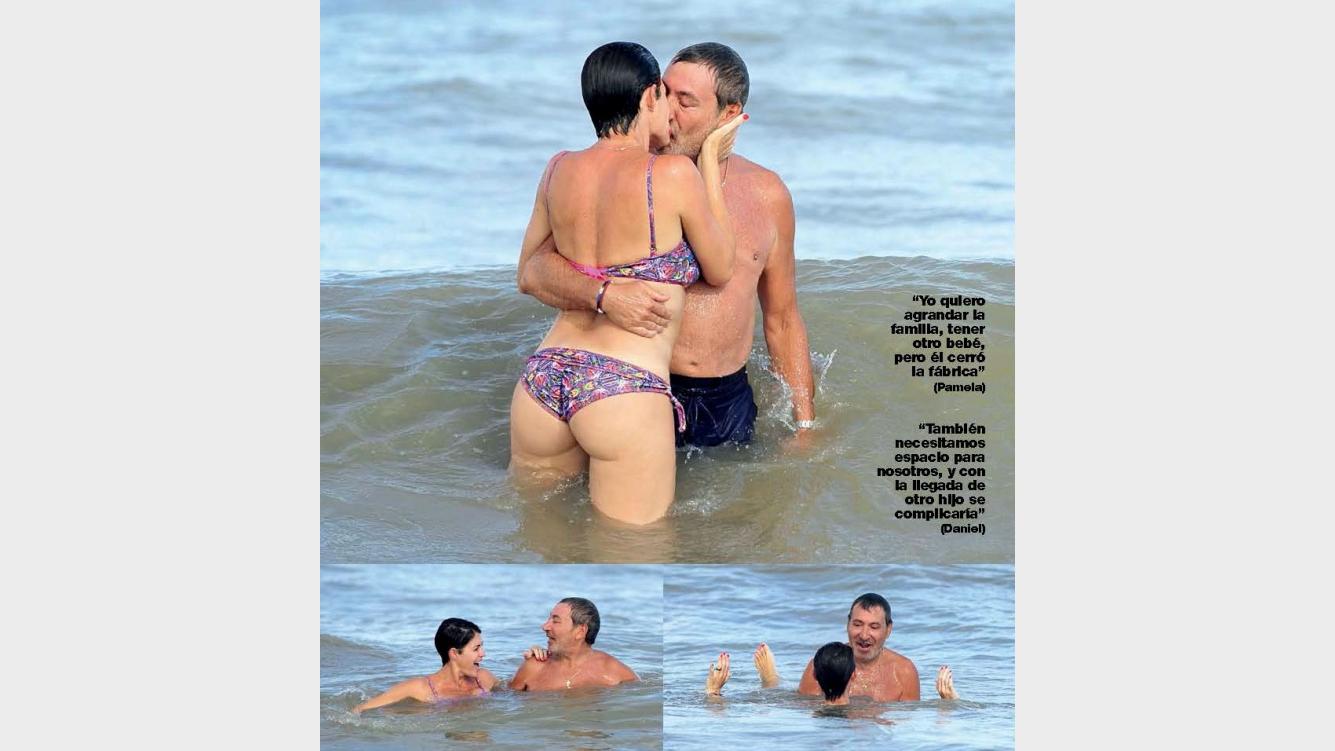 2744cf4769ab Pamela David y Daniel Vila, apasionados en el mar: mimos y juegos ...