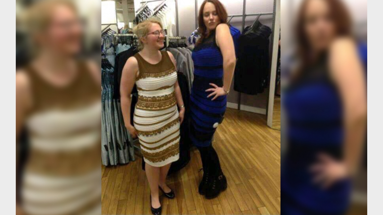 Misterio del vestido azul o dorado
