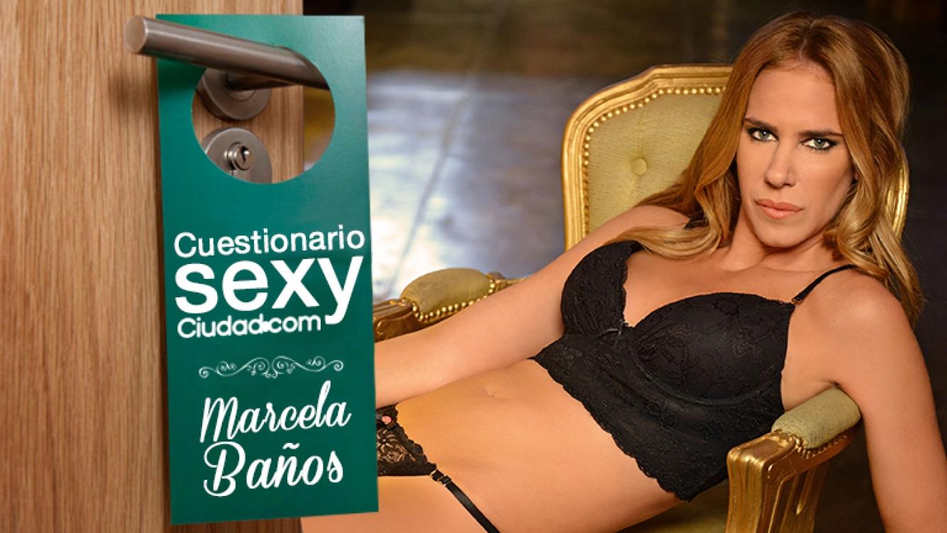"""Baños Gay Porno cuestionario sexy de ciudad! marcela baños: """"si mi"""