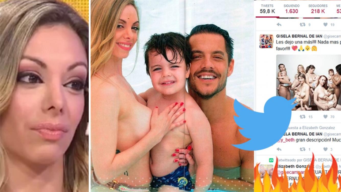 Gisela Bernal Tras Las Críticas Por La Foto Desnuda Con Su Hijo Y