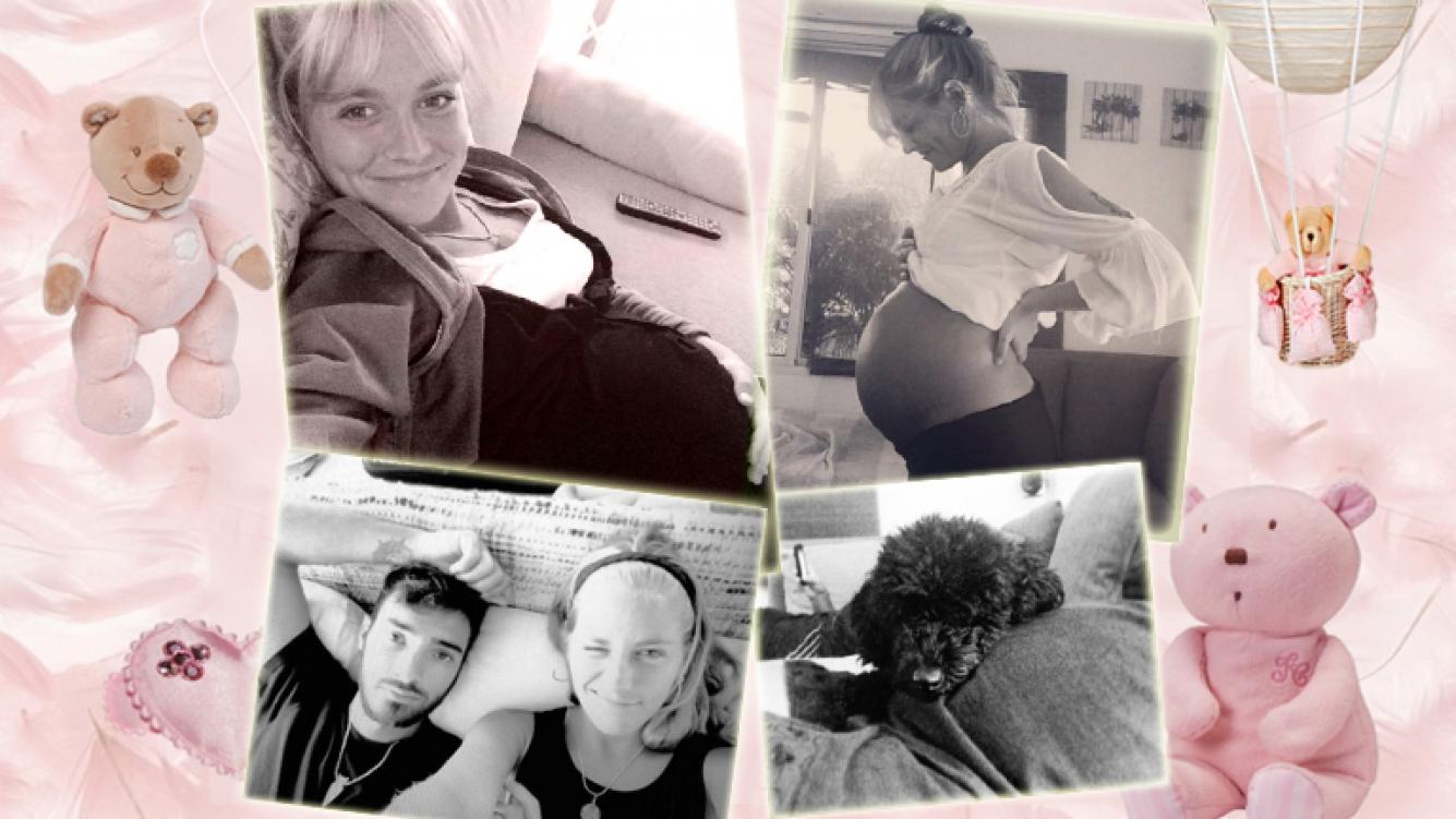 ef3e2572a8b Rochi Igarzabal, embarazada de siete meses y medio, mostró su bella ...