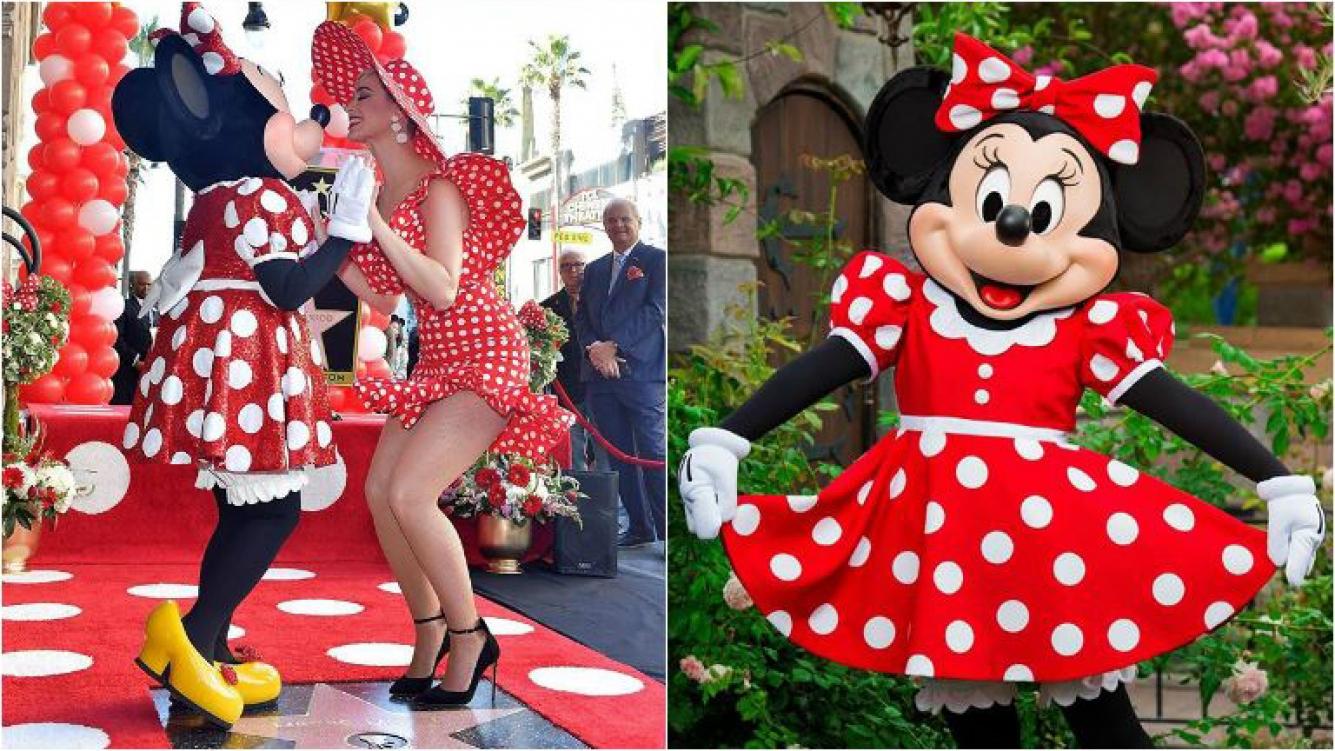 Minnie vestida de novia