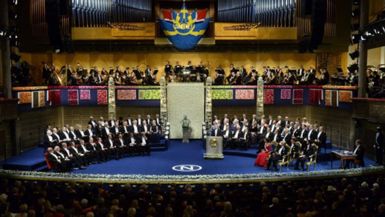 Resultado de imagen para academia sueca nobel