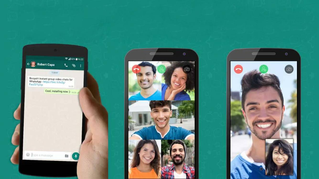 507738e341b Descubrí cómo hacer videollamadas grupales en WhatsApp - Ciudad Magazine