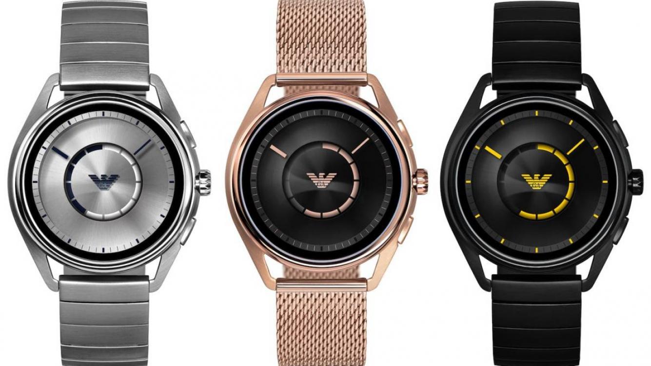 c766f8e849f1 Los relojes inteligentes de Emporio Armani ya están disponibles en pedidos  por adelantado